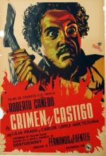 Crimen Y Castigo (1951) afişi