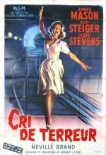 Cry Terror! (1958) afişi