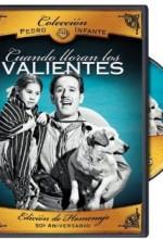 Cuando Lloran Los Valientes (1947) afişi