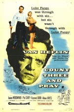 Count Three and Pray (1955) afişi