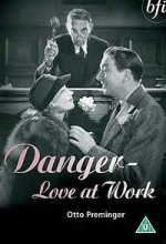 Danger - Love At Work (1937) afişi