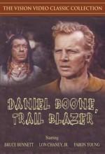 Daniel Boone, Trail Blazer (1956) afişi