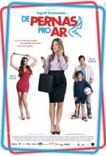 De Pernas Pro Ar (2010) afişi
