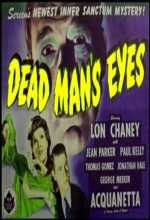 Dead Man's Eyes (1944) afişi