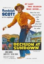 Decision At Sundown (1957) afişi