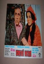 Deli Kız (1975) afişi