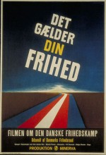 Det Gælder Din Frihed (1946) afişi