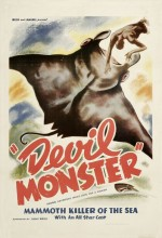Devil Monster (1946) afişi