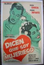 Dicen Que Soy Mujeriego (1949) afişi