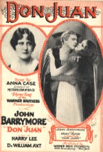 Don Juan (1926) afişi