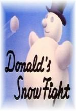 Donald's Snow Fight (1942) afişi