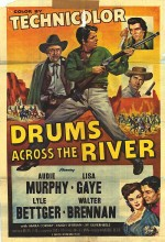 Drums Across The River (1954) afişi