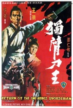 Return of the One Armed Swordsman (1969) afişi