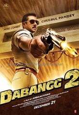 Dabangg 2 (2012) afişi