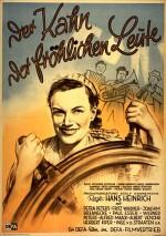 Der Kahn der fröhlichen Leute (1950) afişi