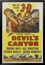 Devil's Canyon (1953) afişi