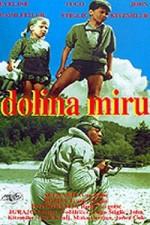 Dolina Miru (1956) afişi