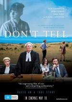 Don't Tell (2017) afişi