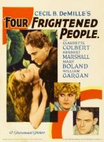 Dört Korkmuş İnsan (1934) afişi