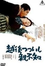 Echigo Tsutsuishi Oyashirazu (1964) afişi