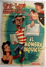 El Hombre Inquieto (1954) afişi