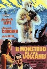 El Monstruo De Los Volcanes (1963) afişi