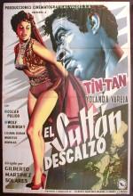El Sultán Descalzo (1956) afişi
