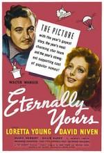 Eternally Yours (1939) afişi