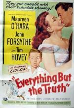Everything But The Truth (1956) afişi