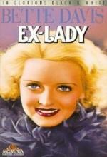 Ex-lady (1933) afişi