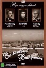 Ez Történt Budapesten (1944) afişi