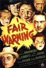 Fair Warning (1937) afişi