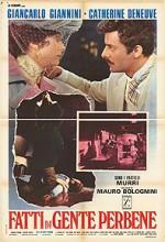 Fatti Di Gente Perbene (1974) afişi