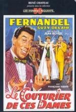 Fernandel The Dressmaker (1956) afişi