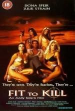 Fit To Kill (1993) afişi