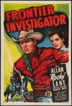 Frontier ınvestigator (1949) afişi