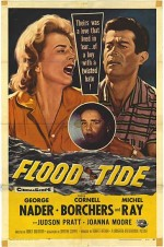 Flood Tide (1958) afişi