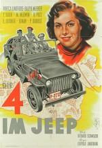 Four In A Jeep (1951) afişi