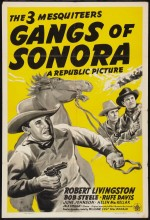 Gangs Of Sonora (1941) afişi