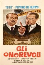 Gli Onorevoli (1963) afişi