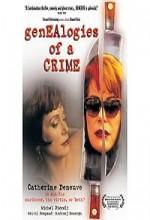 Généalogies D'un Crime (1997) afişi