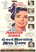Good Morning, Miss Dove (1955) afişi