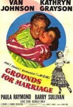 Grounds For Marriage (1951) afişi
