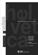 Helvetica (2007) afişi