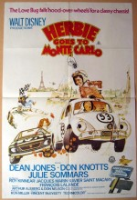 Herbie Goes To Monte Carlo (1977) afişi