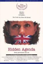 Hidden Agenda (1990) afişi
