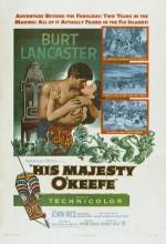 His Majesty O'Keefe (1954) afişi