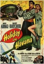 Holiday In Havana (1949) afişi