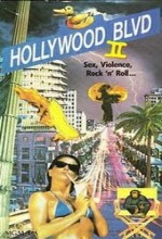 Hollywood Boulevard II (1989) afişi