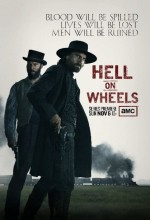 Hell on Wheels Sezon 4 (2014) afişi